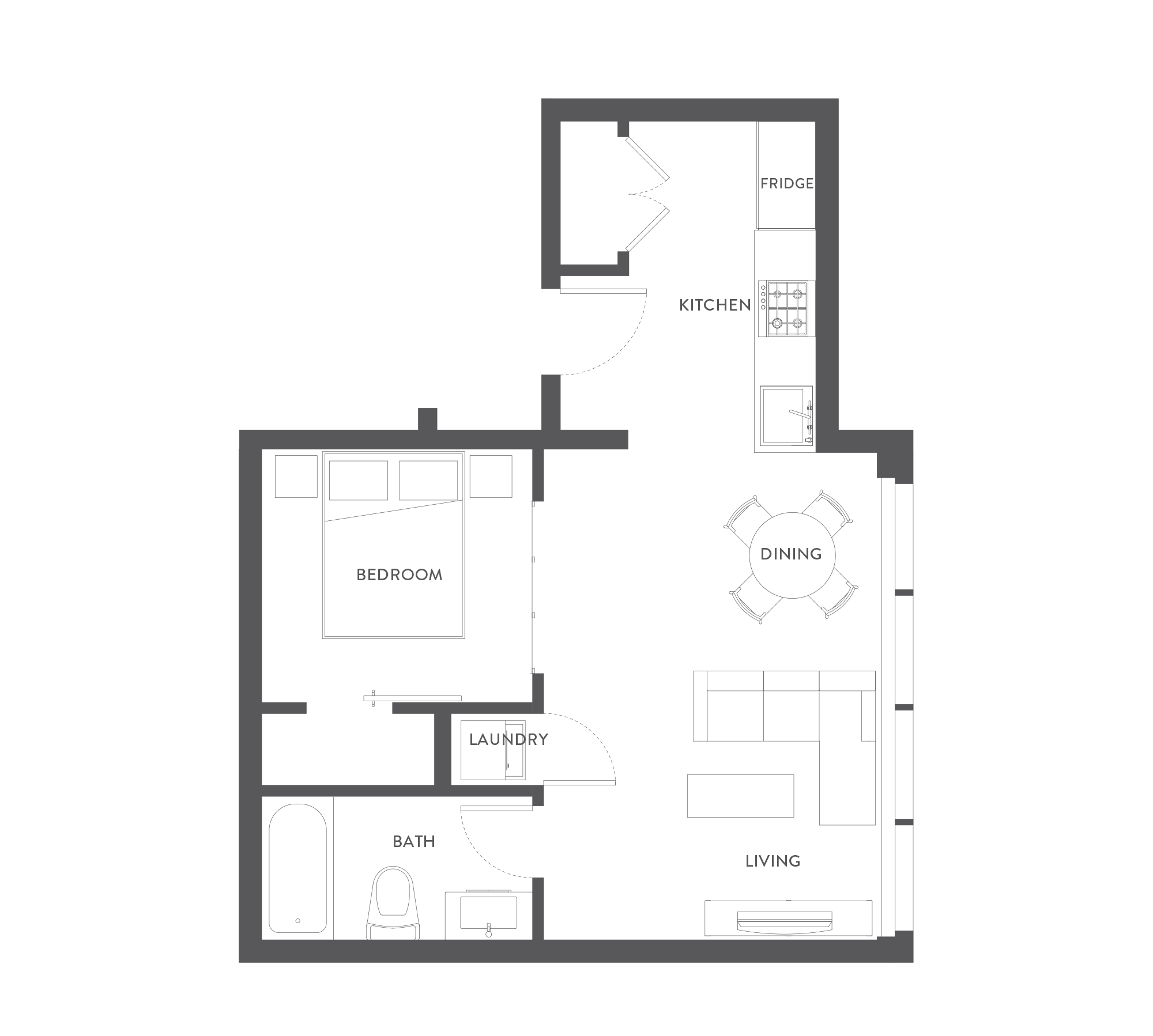 Floorplans the wade harris green victoria bc for Floor plans victoria bc